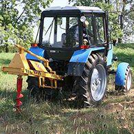 Аренда ямобура на базе трактора МТЗ-82