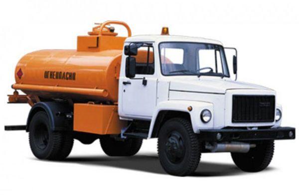 Технические характеристики автозаправщика ГАЗ