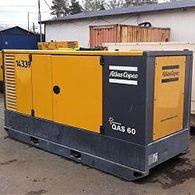 Аренда дизельного генератора ATLAS COPCO QAS 60