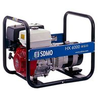 Аренда генератора SDMO HX 6000 S