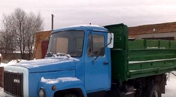 ГАЗ-3307 самосвал