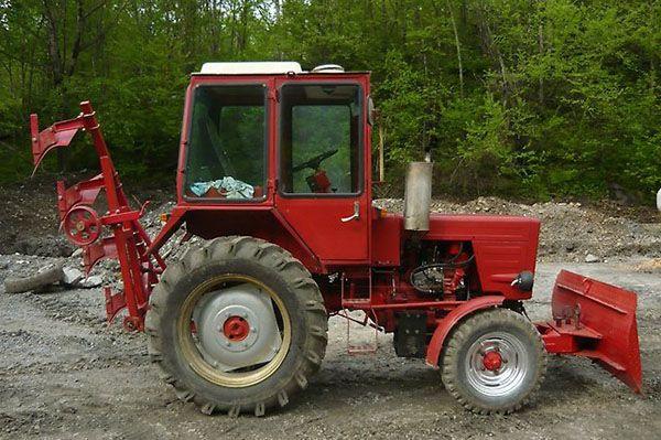 Применение трактора Т-25
