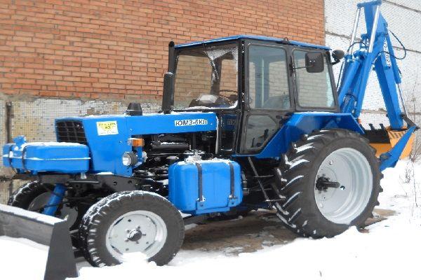Технические характеристики трактора ЮМЗ-6КЛ