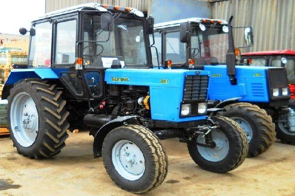Модификация трактора МТЗ-80