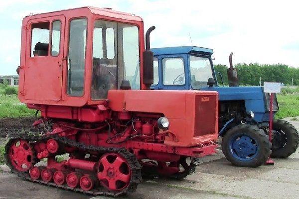 Трактор гусеничный Т-70