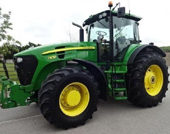 Технические характеристики трактора John Deere 7830