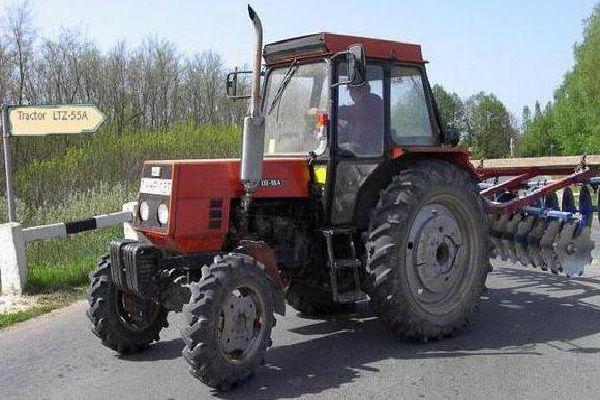 Расход топлива в тракторе ЛТЗ-55