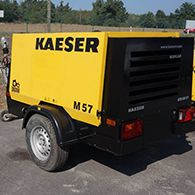 Аренда компрессора KAESER M57