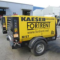 Аренда дизельного компрессора Kaeser M 57