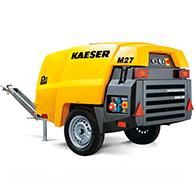 Аренда компрессора Kaeser Mobilair 27