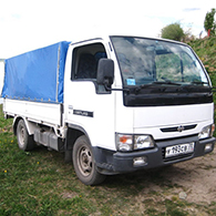 Аренда грузового такси Nissan Atlas