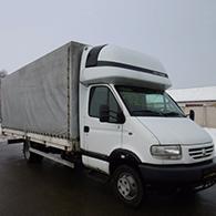 Аренда грузового такси Renault Mascott
