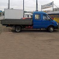 Аренда грузового такси бортовая Газель