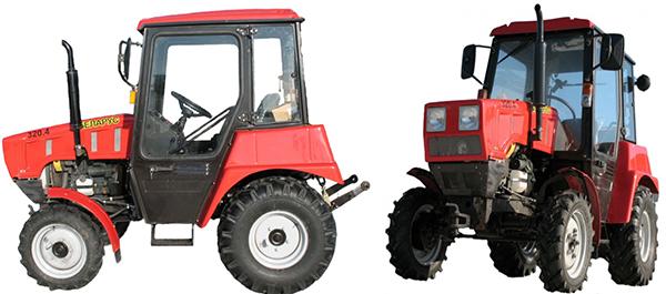 Внешний вид трактора МТЗ-320