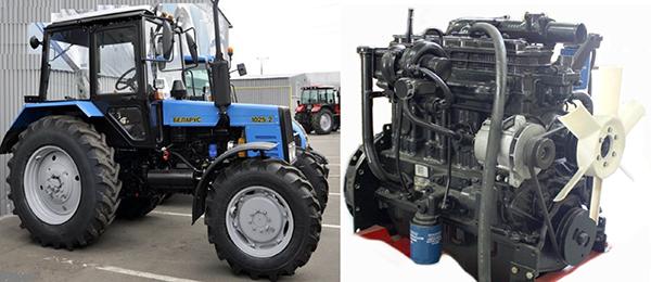 Двигатель Д-245 трактора МТЗ-1025