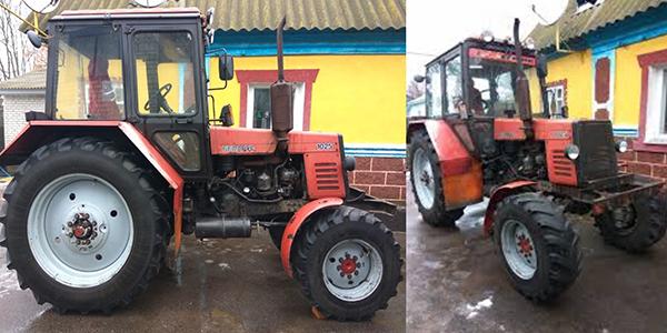 Трактор МТЗ 1025 Беларус 2004 года