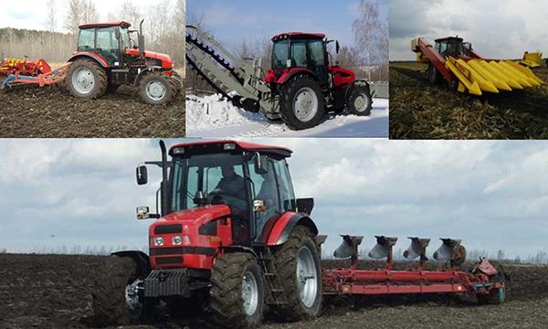 Применение трактора МТЗ-1523