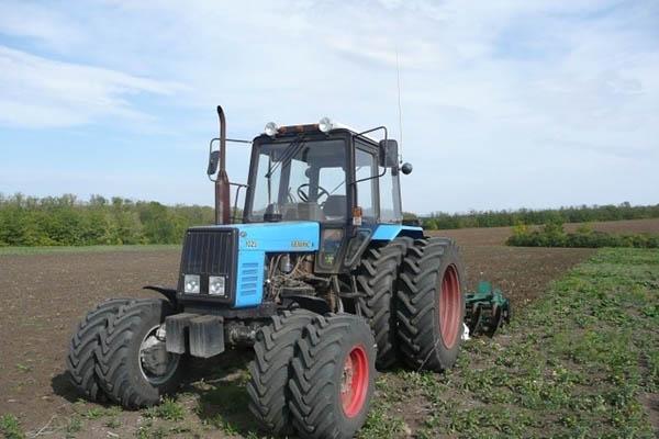 Применение трактора МТЗ-1025