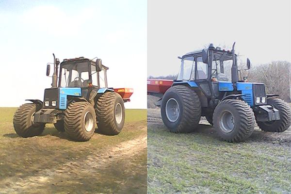 Внешний вид трактора МТЗ-1025