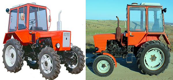 Внешний вид трактора Т-30