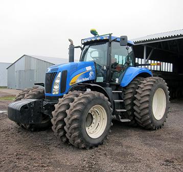 Технические характеристики трактора Нью Холланд Т-8040
