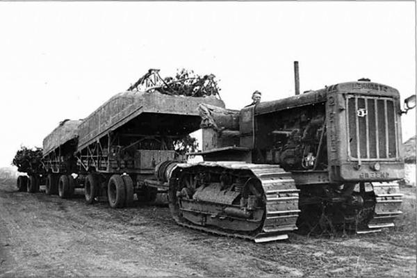 Трактор Т-100 во времена СССР