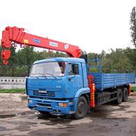 Аренда манипулятора КАМАЗ 65117 KANGLIM KS1256G