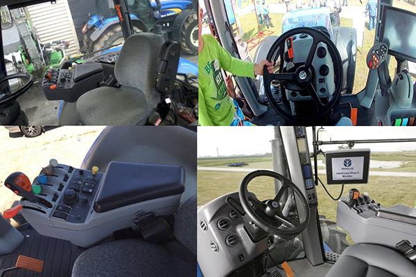 Кабина трактора Нью Холланд Т-8040