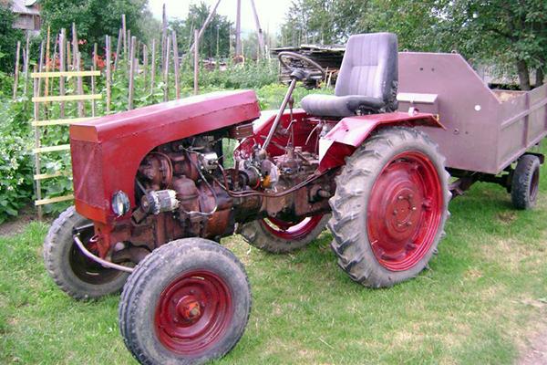 Предназначение трактора ДТ-20