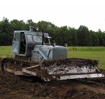 Технические характеристики трактора Т-100