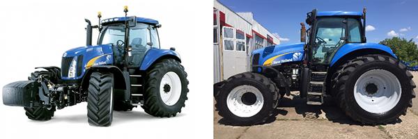 Внешний вид трактора New Holland T-8040