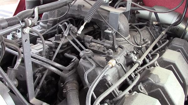 Двигатель трактора К-744