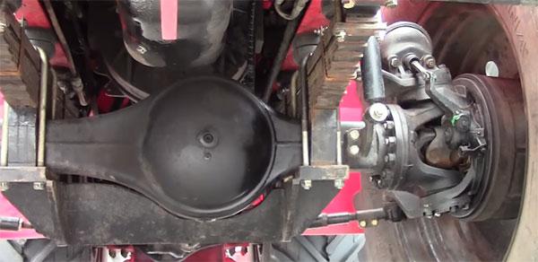 Ходовая часть трактора Т-360