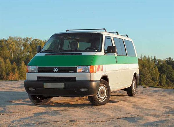 Volkswagen Transporter T4 широко применяется в различных сферах