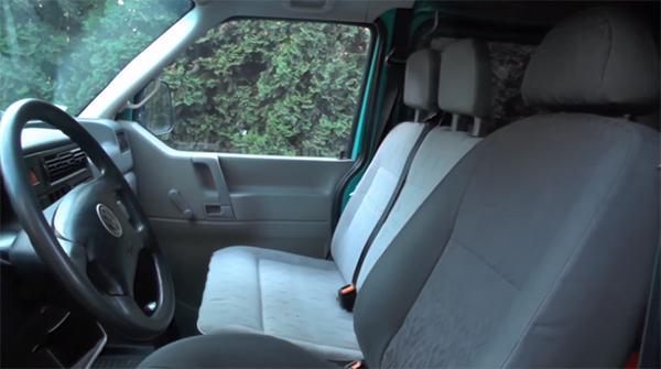 Салон Volkswagen Transporter T4