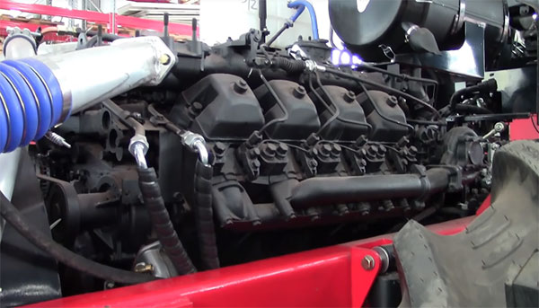 Двигатель камаз на тракторе Т-360