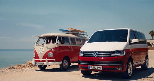 История развития Volkswagen Transporter