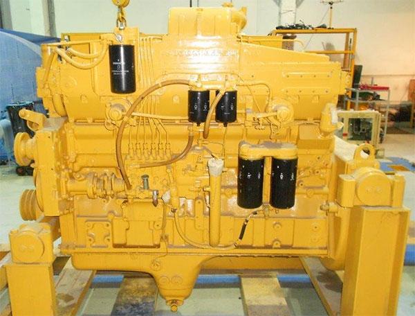 Двигатель бульдозера Komatsu D355 SA6D155-4А