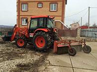 Услуги погрузчика KIOTI DK551C в Серпухове