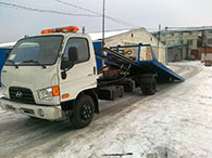 Перевозка спецтехники эвакуатором HD78 в Самаре