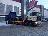 Услуги эвакуатора для грузовиков SKANIA в Иркутске