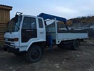 Услуги эвакуатора Isuzu Forward в Иркутске