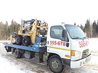 Услуги эвакуатора техники Hyundai HD 78 в Ижевске