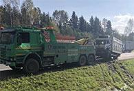 Услуги грузового эвакуатора Скания в Ярославле