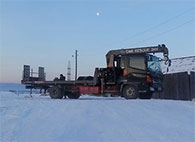 Услуги кран-манипулятор-эвакуатор Hino Ranger в Иркутске